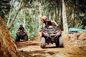 わくわくのバリ島観光 ABIANSILA ADVENTURES ATVライド1