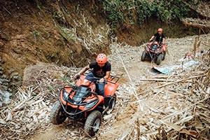わくわくのバリ島観光 ABIANSILA ADVENTURES ATVライド2