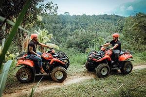 わくわくのバリ島観光 ABIANSILA ADVENTURES ATVライド3