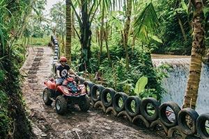 わくわくのバリ島観光 ABIANSILA ADVENTURES ATVライド4