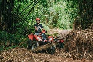 わくわくのバリ島観光 ABIANSILA ADVENTURES ATVライド5