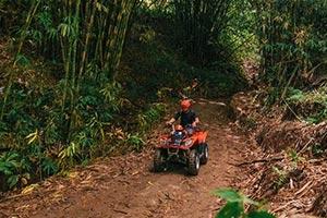 わくわくのバリ島観光 ABIANSILA ADVENTURES ATVライド6