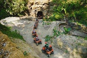 わくわくのバリ島観光 ABIANSILA ADVENTURES ATVライド7