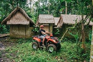 わくわくのバリ島観光 ABIANSILA ADVENTURES ATVライド8