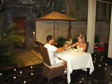 ロマンティックディナー