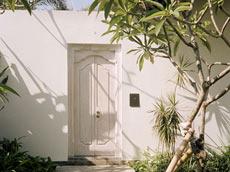 ガーデンルーム 入口