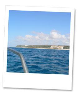 ウルワトゥ沖へ