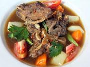 アヒルのスープ(スープベトゥトゥ)