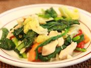 彩の良い野菜料理