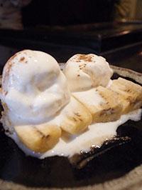 バナナフランベ