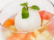 フルーツのデザート