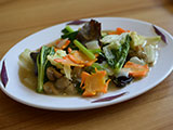 インドネシア風野菜炒め