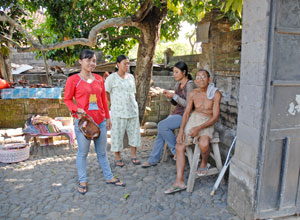 バトゥアン村民家2