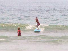 海での実践