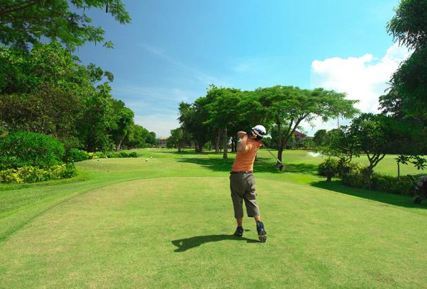 バリ島 観光 ゴルフ バリ ビーチ ゴルフ