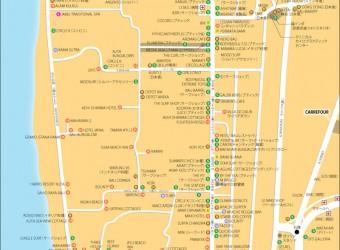地図 クタ エリア