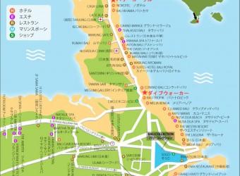 地図 ヌサドゥア エリア