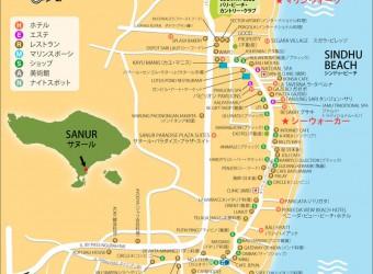 地図 サヌール