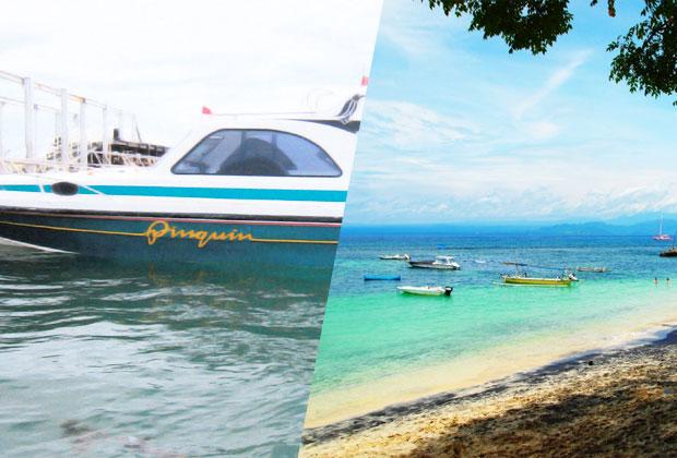 クレイジー特価 レンボンガン島往復貸切ボート