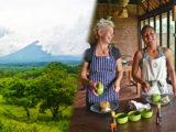 バリ島東部でネイチャースポーツとオーガニックランチ