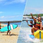 サーフィン体験+マリンスポーツ