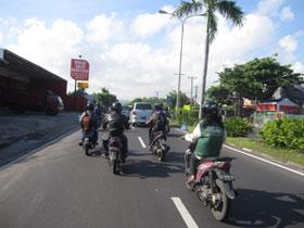 バリの道路