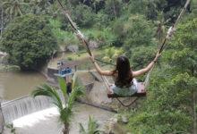 バリ島の絶景ポイントで記念撮影!Bali Swing  I バリ島 山遊び 体験レポート
