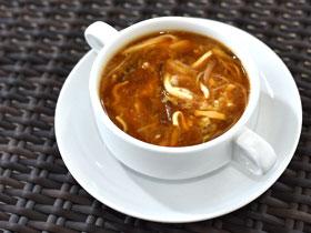 四川風辛酸スープ